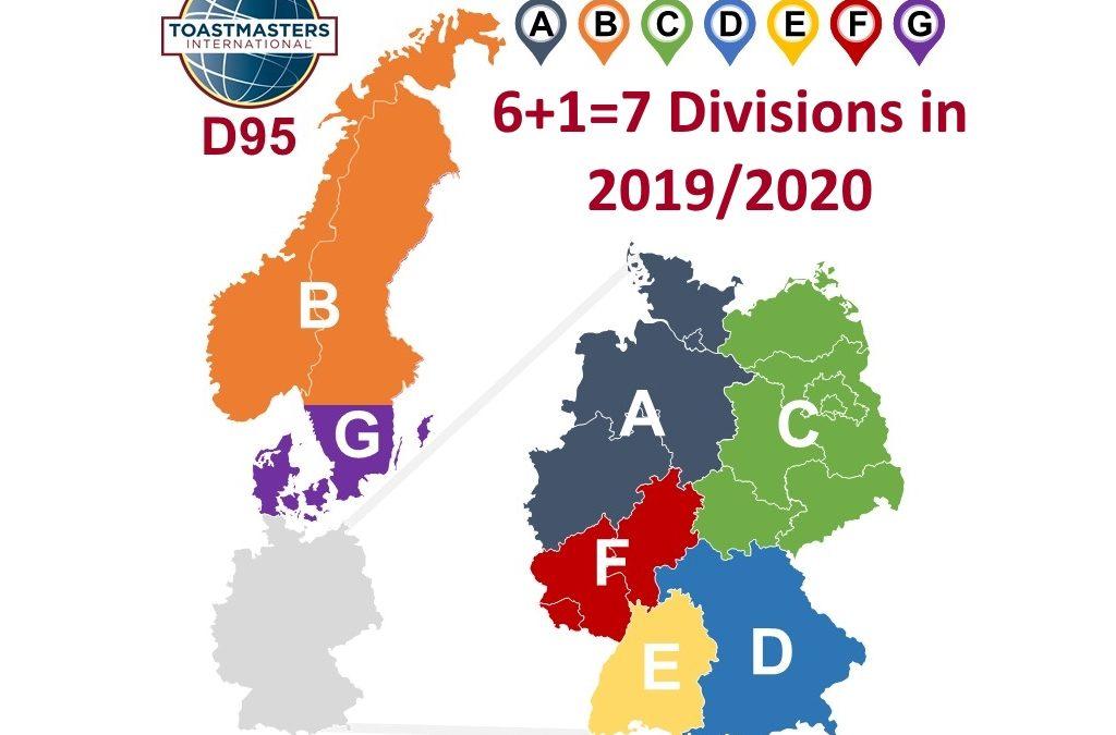 District 95 New Alignment 2019/2020
