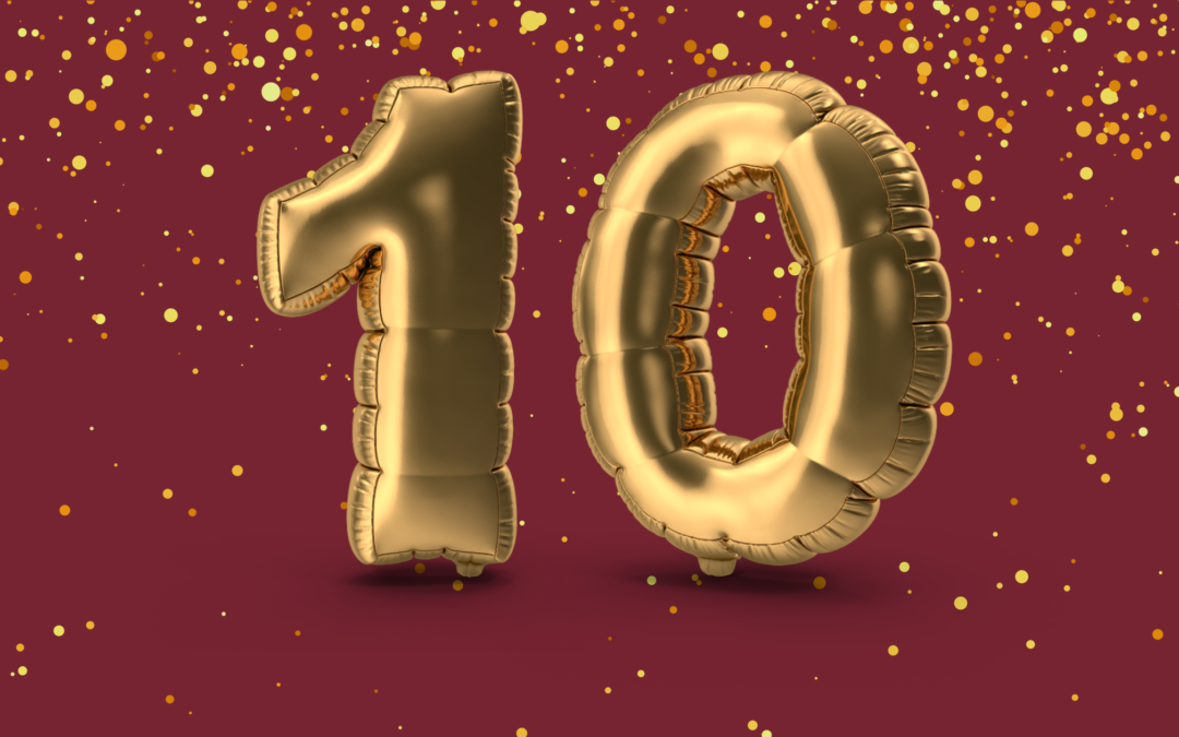 Celebrating  Bremer Sprechstunde Toastmasters Club's 10th Anniversary